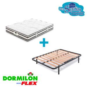 Pack colchón dormiblock más somiflex